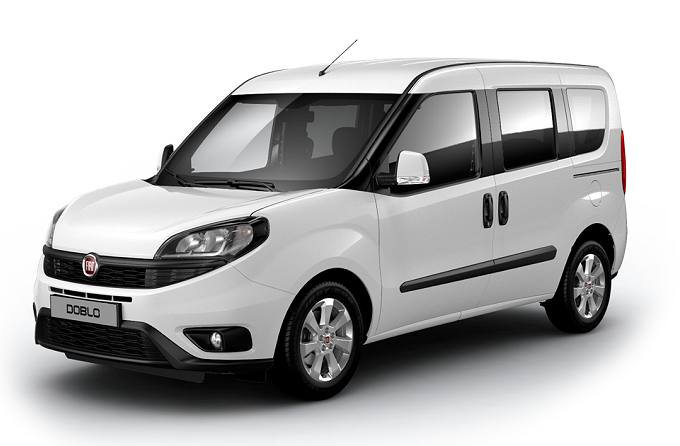 Rent a car in Naxos Fiat Doblo 7 Seater