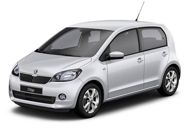 Rent a car in Naxos Skoda Citigo