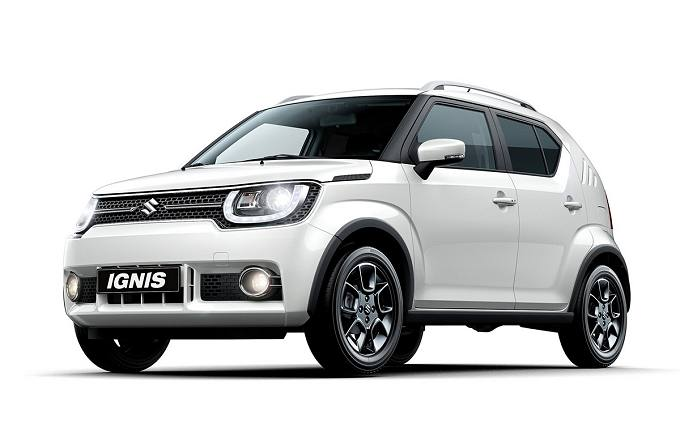 Rent a car in Naxos Suzuki Ignis
