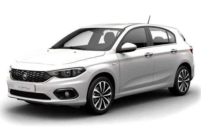 Rent a car in Naxos Fiat Tipo
