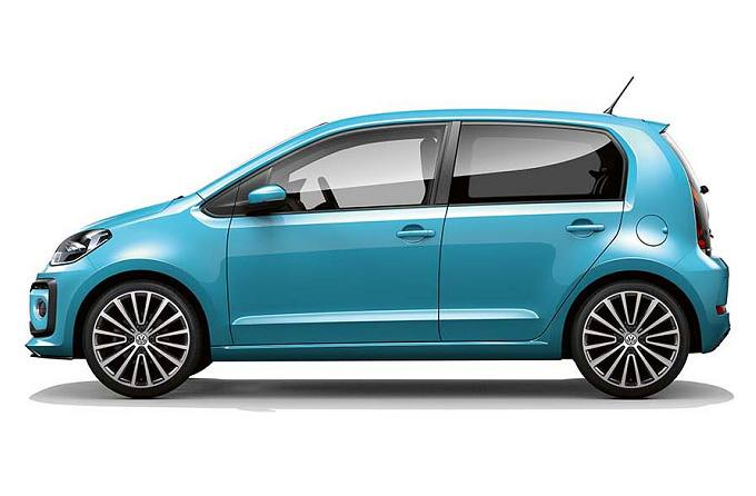 Rent a car in Naxos VW Up